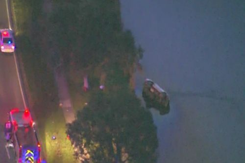 Driver dead after vehicle plunges into Orange County pond, troopers say