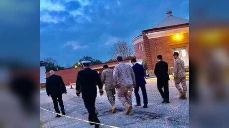 Nearly 175 Saudi aviation students grounded after Pensacola base shooting