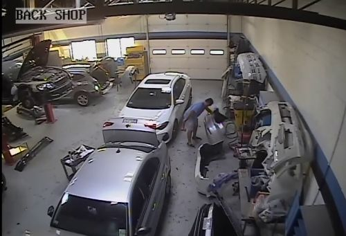 Mass. body shop owner's own video helped convict him of fraud