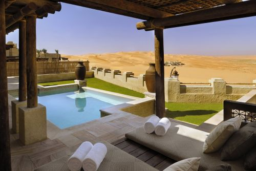 The world's most 'Instagrammable' hotel is smack in the middle of a desert - take a look around