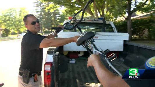 Stolen special needs bike returned to Sacramento family