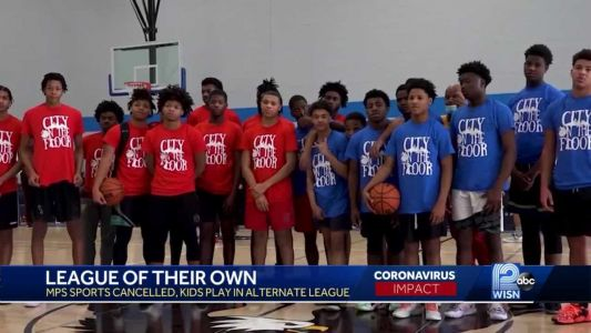 Community organizes 'league of their own' for MPS basketball players who had no chance to play