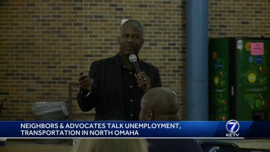 Neighbors and advocates discuss unemployment, transportation in North Omaha