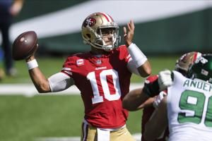 49ers QB Jimmy Garoppolo ready for return to New England