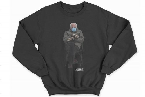 The Bernie Sanders meme is now a $45 sweatshirt