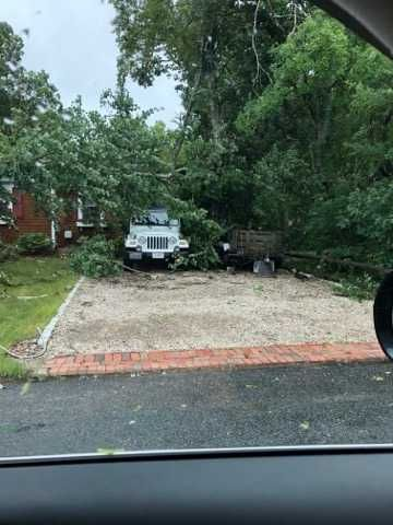 WATCH: Videos from Cape Cod's tornado