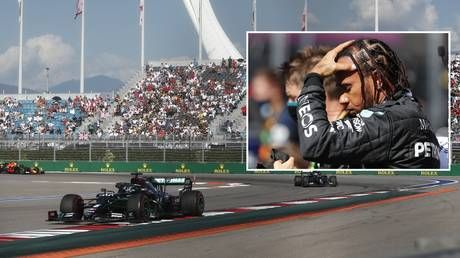 Russian Grand Prix: Flying Finn Bottas wins in Sochi as penalty costs Hamilton dear in bid to equal Schumacher record