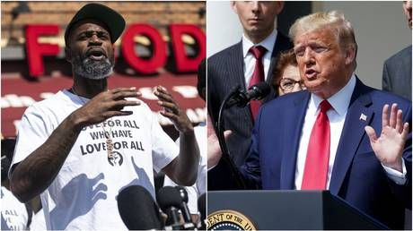 'We're coming to get you out of the White House': NBA champion sends warning to Trump amid George Floyd protests