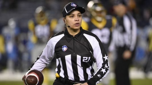 NFL Names Its First Black Female Official