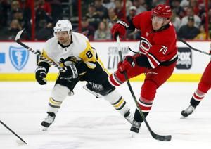 Hamilton, Hurricanes beat Penguins 3-2 in shootout