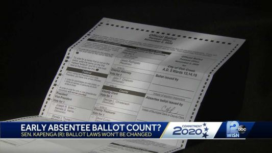 State Republicans differ with US Sen. Johnson over when to count absentee ballots