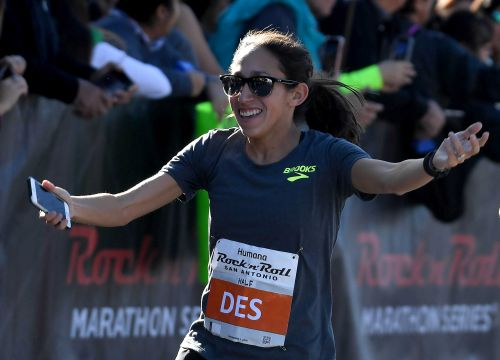 Going the distance: This 37-year-old runner just set a 50K world record