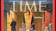 New Time Cover Shows The Utter Chaos That Donald Trump Left Behind For Joe Biden