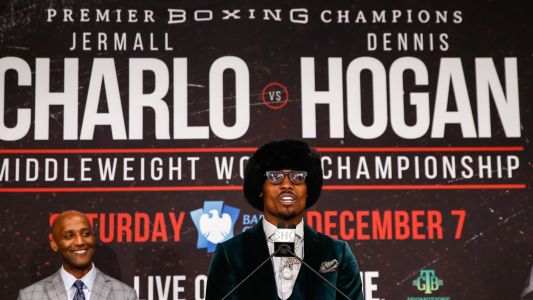 Jermall Charlo delivers statement win with seventh-round TKO of Dennis Hogan