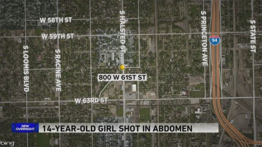 14-year-old girl shot in Englewood, police say