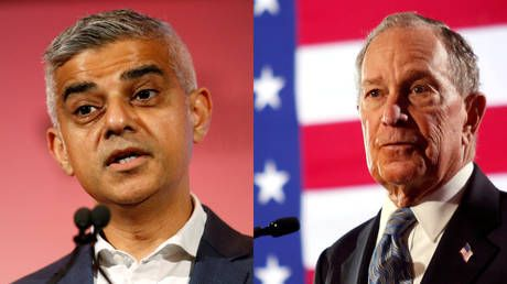 Sadiq Khan rattles Labour supporters after showing interest in US billionaire Bloomberg over socialist Sanders to beat Trump