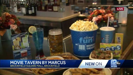 New cinema concept offers food, adult beverages