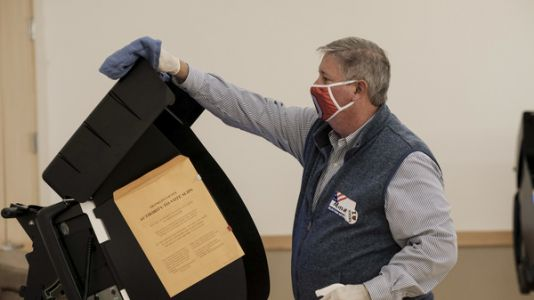 Trump's Baseless 2020 Conspiracies Complicate Ohio Effort To Buy Voting Machines