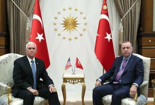 US, Turkey agree on ceasefire in Syria, according to Vice President Mike Pence