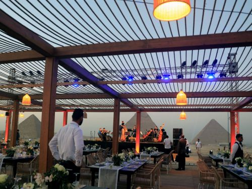 Egypt just unveiled the first restaurant at the Great Pyramids ever as it doubles down on tourism to lure travelers back