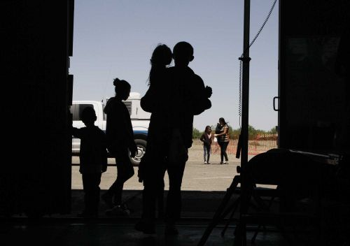 Lawyers say children are going weeks without adequate food and sanitation at border detention site