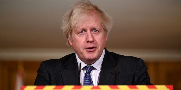 Boris Johnson says the UK's coronavirus variant may have a higher mortality rate