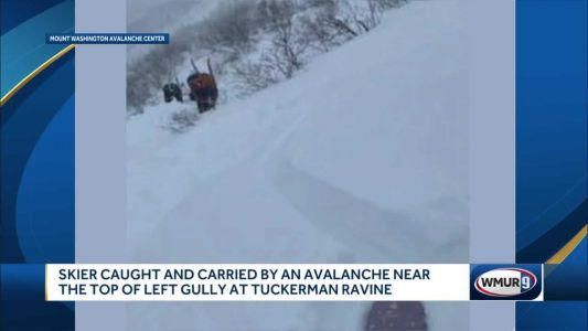 Skier rescued from avalanche on Mt. Washington