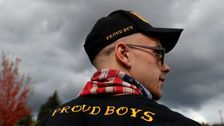 Proud Boys Celebrate Trump's Call For The Hate Group To 'Stand By'