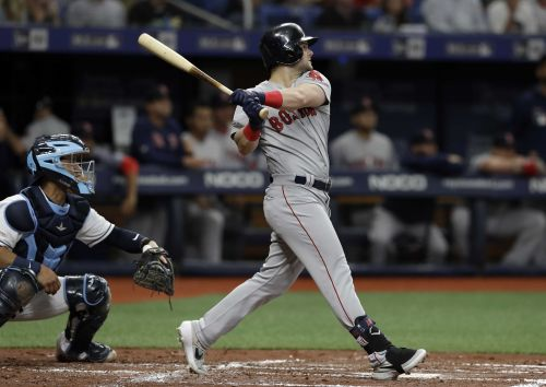 Andrew Benintendi powers Red Sox to victory over Rays