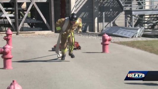 Louisville firefighters look to take home win in national competition