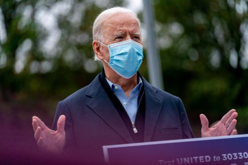 Biden slams 'rushed and unprecedented' Amy Coney Barrett confirmation