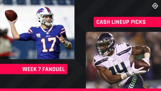 FanDuel Picks Week 7: NFL DFS lineup advice for daily fantasy football cash games