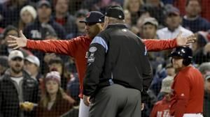 Cora breaks character, gets tossed in Game 1