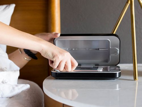 Your phone could have 18 times more bacteria than a public restroom - this clever device sanitizes it for you