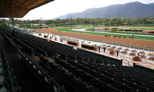 Santa Anita suspends racing because of coronavirus