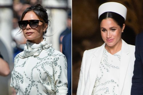 How Victoria Beckham's latest look links her to Meghan Markle