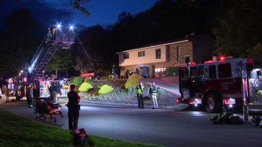 1 person taken to the hospital after fire breaks out in Westmoreland County home