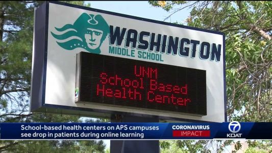 School-based health centers on APS campuses see 75% drop in patients during online learning