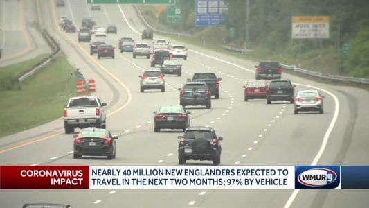 Nearly 40 million New Englanders expected to travel in next two months; 97% by vehicle