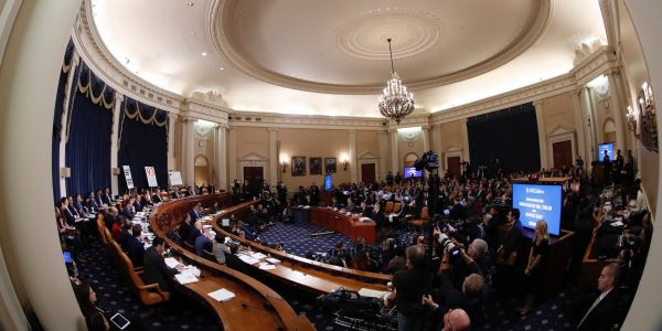 64 photos show the key moments of Trump's impeachment so far