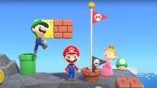Turn your island into a Mario course with these Mushroom Kingdom items