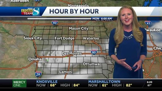 Humid conditions today, more storms on the way