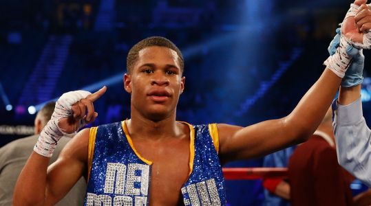 Devin Haney talks how fighting young got him into boxing, striving to become world champion
