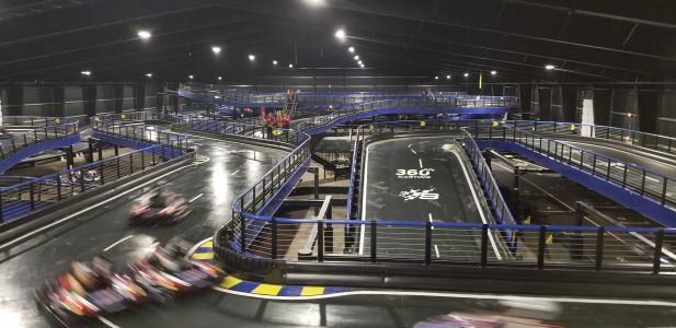 World's largest indoor go-kart track opens in New England