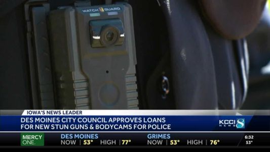 Des Moines approves $2M loan for police body cams, other equipment