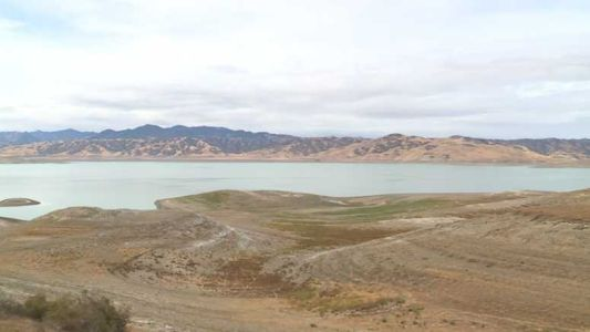 San Luis Reservoir at historic lows as drought continues