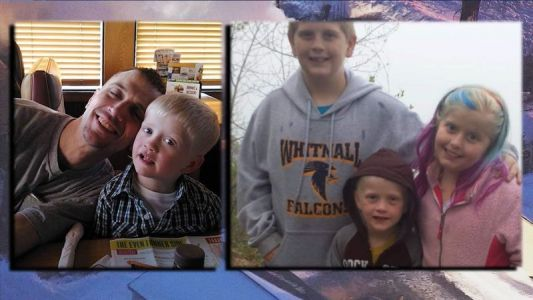 Father dies trying to save children from house fire
