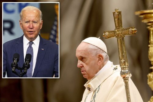 Vatican axes coverage of Biden meeting with Pope Francis