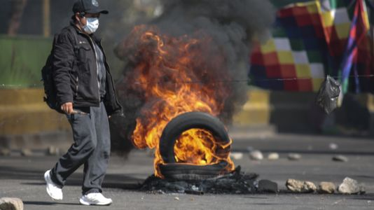'We Can't Stand It Anymore': Bolivian Protesters Demand Quick Elections