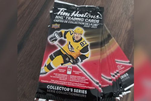 Hockey fans cry foul over Tim Hortons NHL card promotion